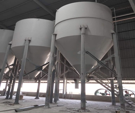 Gypsum Storage Silos